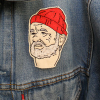 Steve Zissou Embroidered Patch/Brooch