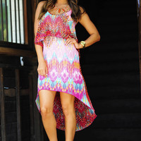 Take Me On A Safari Dress: Multi | Hope's