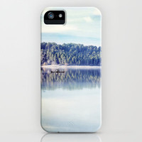 Retro Lake iPhone & iPod Case by Guido Montañés