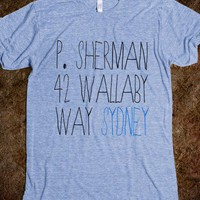 P. Sherman 42 Wallaby Way, Sydney - plain 'ole tees - Skreened T-shirts, Organic Shirts, Hoodies, Kids Tees, Baby One-Pieces and Tote Bags