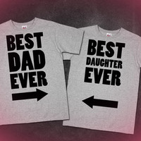Best Dad Ever, Best Daughter Ever Fathers Day Gifts