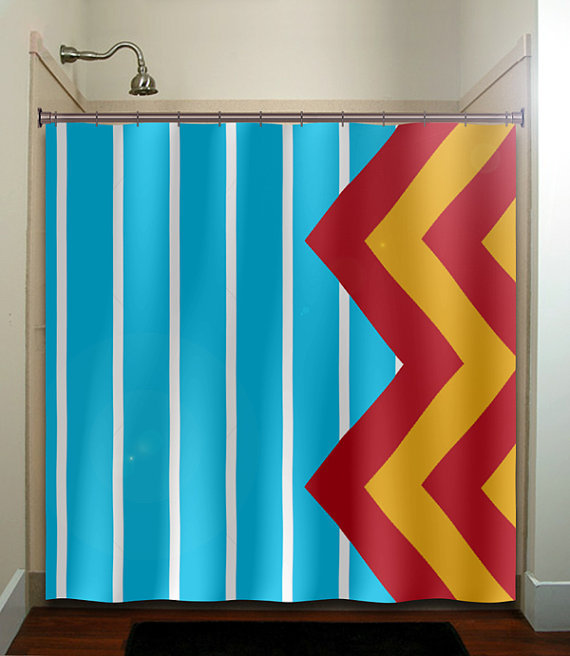 Large Blue Stripe Yellow Red Giant From Tablishedworks On Etsy