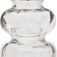 Clear Decorative Glass Bottle (genie design)