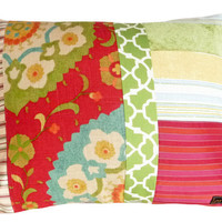 Bohemian Chic Patchwork Pillows New LUX AND by PillowThrowDecor