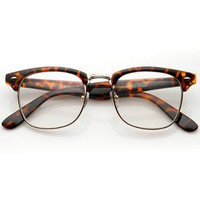 Vintage Inspired Classic Clubmaster Nerd Wayfarers