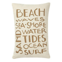 Beach Waves Pillow