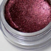 Vegan Mineral Eyeshadow Pigment in Pomegranate - No Fillers | LaConchitaNaturals - Bath &amp; Beauty on ArtFire