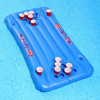 Party Pong Pool Float- Assorted One Size- Assorted One