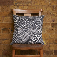 Grey Starling Cushion