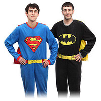 Superhero Union Suit Fleece Pajamas