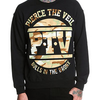 Pierce The Veil Bulls In The Bronx Crewneck Sweatshirt | Hot Topic