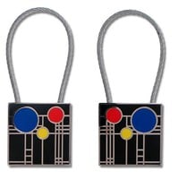 Playhouse keyring by Frank Lloyd Wright and Acme Studio - Pop! Gift Boutique