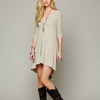 Free People Womens Drippy Jersey Dress -