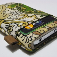 Iphone Case - Liberty Vintage Fabric - Folksy
