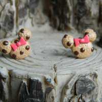 Chocolate chip Minnie studs