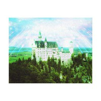 Neuschwanstein Castle - Fairy Dust Photo Edit Canvas Prints from Zazzle.com