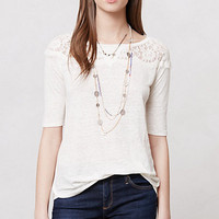 Scalloped Lace Blouse