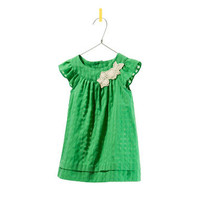 DRESS WITH EMBROIDERED FLOWER - Dresses - Baby girl - Kids - ZARA United States