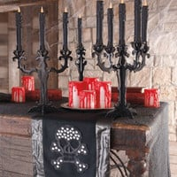 Heavy Blood Drip LED Candle