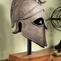 Unique Decor | Macedonian Battle Helmet Museum Sculpture