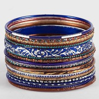 BKE Mixed Bangle Bracelet Set - Women's Accessories | Buckle