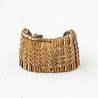 Free People Metal Zig Zag Bracelet