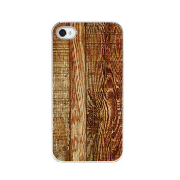 iPhone Case  Brown Wood Board Texture  Fine by paperangelsphotos