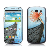 Samsung Galaxy S III Skin - Black Lace Evening by Bella Pilar