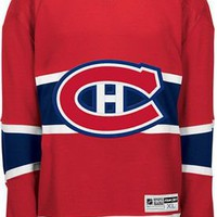 Reebok Montreal Canadiens Premier Home Jersey (Blank or Customized) - Shop.NHL.com