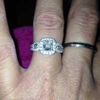 Have You Seen the Ring?: Vintage Style Engagement Ring Featuring 0.80ct Cushion Cut Diamond