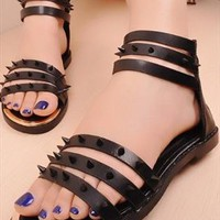 Gladiat Rivet Sandals from sniksa