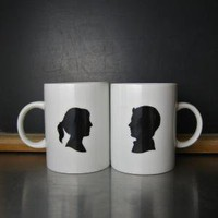 Custom Cameo Mugs by BROOKLYNrehab on Etsy