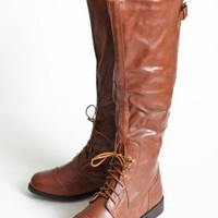 journey lace up boots