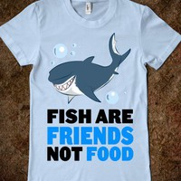Fish are Friends! (Juniors) - Moviemoviesmovies - Skreened T-shirts, Organic Shirts, Hoodies, Kids Tees, Baby One-Pieces and Tote Bags