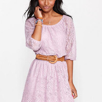 Allover Long Sleeve Lace