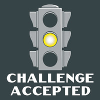 Challenge Accepted Stoplight T-Shirt | SnorgTees