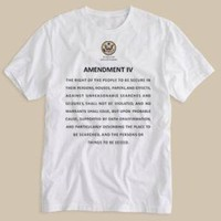 4th Amendment Shirt