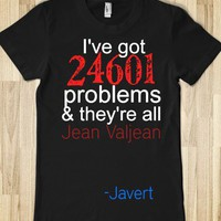 JAVERT'S PROBLEMS