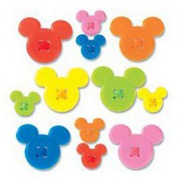 Disney Mickey Icon Adhesive Buttons & Buttons at Joann.com