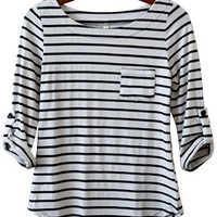 Perfect Everyday Shirt, Black Stripes (Narrow)