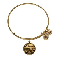 Alex and Ani Boston Charm Bangle - Russian Gold