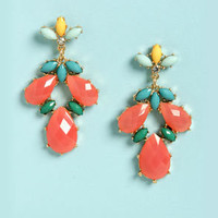 Pa-Gem-a Party Coral Earrings