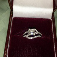 Have You Seen the Ring?: 1.54ctw Princess Cut Engagement Ring