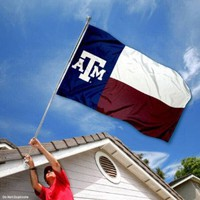 Texas A&M Aggies Texas State Flag