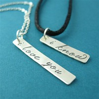 Han & Leia His and Hers Necklace Set - Spiffing Jewelry