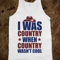 I Was Country (tank)