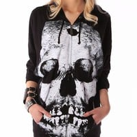 Iron Fist Loose Tooth Hoodie - Black