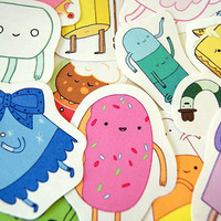 Adventure Time sticker pack -candy kingdom- (set 4)