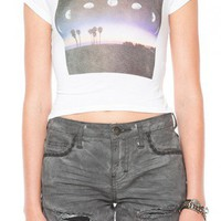Brandy ♥ Melville | Carolina Crescent Moon Top - Just In
