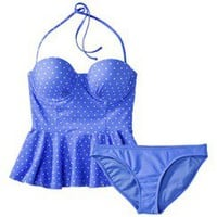Polka dot bathing suit at Target